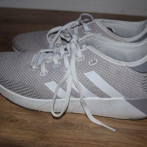Size 8 Adidas shoes// Faint purple